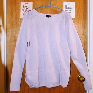 The Limited Lavender Dual Texture Sweater